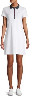 Tommy Hilfiger Short-Sleeve Cotton Polo Dress