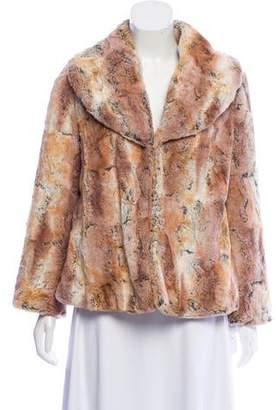 Alice + Olivia Faux Fur Colorblock Jacket