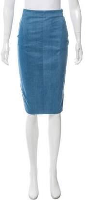 Altuzarra Denim Pencil Skirt
