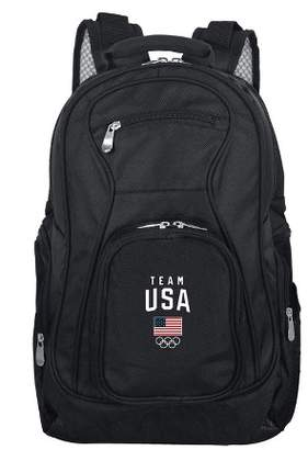 Mojo Licensing United States Olympic Team Black Laptop Backpack