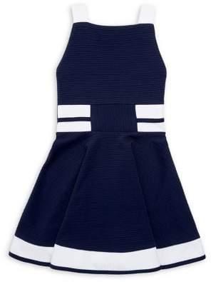 Sally Miller Girl's Squareneck Dress