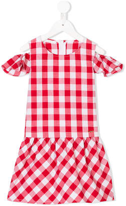 Liu Jo Kids gingham print dress