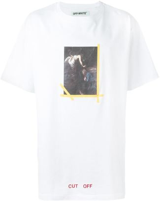 Off-White painting print T-shirt $315 thestylecure.com