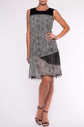 Alison Sheri Black & White Dress