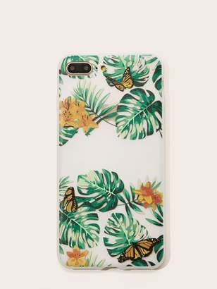 6405807f3e Shein Tropical Pattern iPhone Case