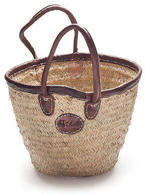 Co NEW Medium bucket basket with leather trim Women's by 2 duck trading