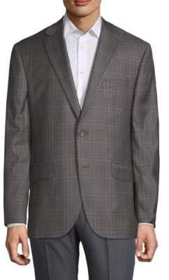 Jack Victor Plaid Wool Sportcoat