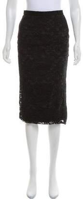 Dolce & Gabbana Lace Pencil Skirt
