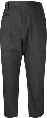 R 13 tailored dropped crotch trousers