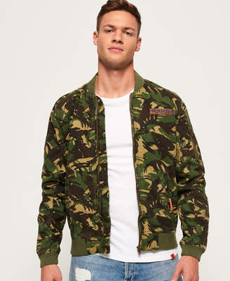 Superdry Rookie Duty Splatter Bomber Jacket