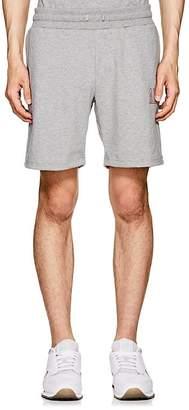 Leon Aime Dore Men's Logo Cotton Shorts