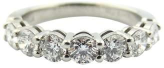 Tiffany & Co. Platinum Shared Setting .91ct Diamond Band Ring