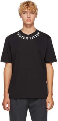 BLACKBARRETT by NEIL BARRETT Black Faster Fitter Collar T-Shirt