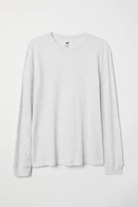 H&M Waffled Shirt - Gray