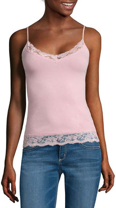 ARIZONA Arizona Lace-Trim Camisole - Juniors $14 thestylecure.com
