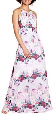 Yumi Floral Watercolour Dress, Multi