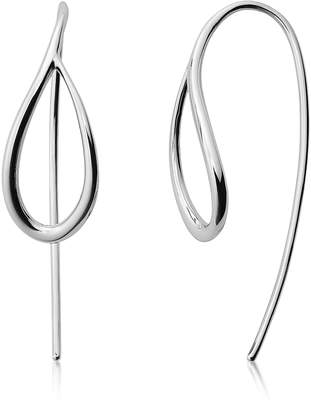 Skagen Kariana Silver-Tone Earrings