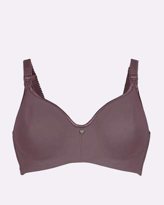 Croissant Flexi Wire Seamfree Spacer Full Cup Maternity & Nursing T-Shirt Bra