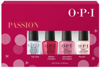 Opi Online Only Passion Nail Lacquer Mini 4-Pack