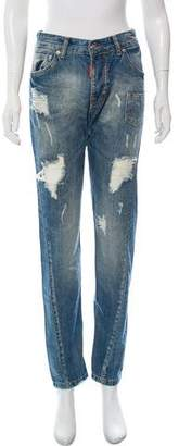 DSQUARED2 Mid-Rise Skinny Jeans