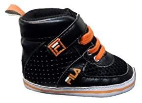 Fila Lace High Top New Born Baby Bootie Sneakers