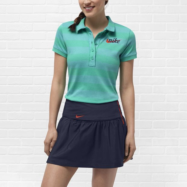 Nike Sport Stripe Graphic Women's Golf Polo