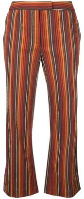 Rosie Assoulin striped flared trousers