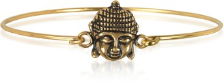 Alcozer & J Brass Buddha Bangle