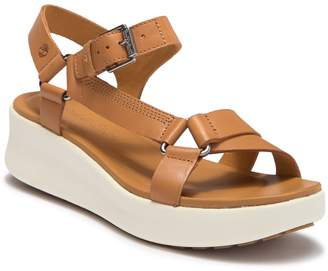 Timberland Los Angeles Wind Sporty Leather Sandal