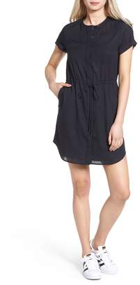AG Jeans Lima Collarless Shirtdress