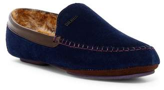 Ted Baker Morris Suede Faux Fur Lined Driver