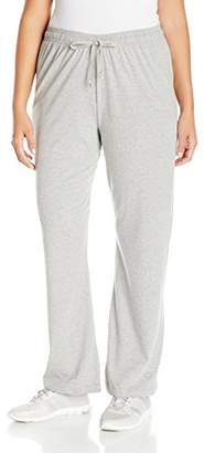 Champion Women's Plus Size Jersey Pant