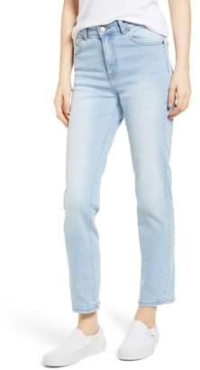 Denim & Supply Ralph Lauren Dr. Denim Supply Co. Edie High Waist Crop Straight Leg Jeans