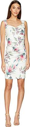 Nicole Miller Women's Tropical Santina Dress