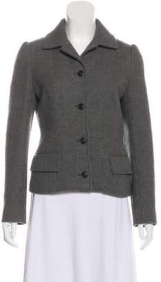 Dolce & Gabbana Virgin Wool Structured Blazer