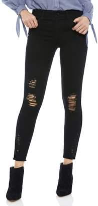 Sam Edelman The Kitten Ripped Ankle Skinny Jeans