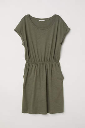 H&M Jersey Dress - Green