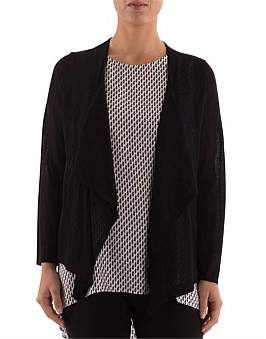 Ping Pong Sheer Waterfall Cardigan