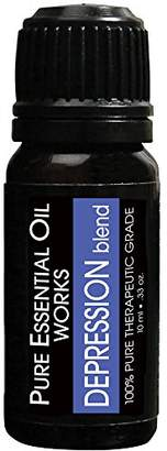 Blend of America Pure Essential Oil Works Depression Oil