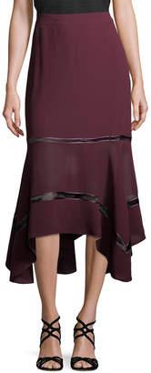 Derek Lam 10 Crosby Derek Lam Handkerchief Midi Skirt