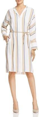 Lafayette 148 New York Calleigh Striped Shirt Dress