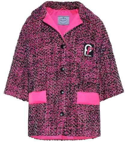 Cotton tweed jacket