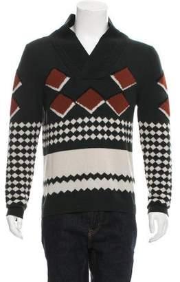 Burberry Cashmere Intarsia Sweater