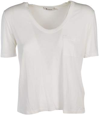 Alexander Wang Pocket Classic Cropped T-shirt