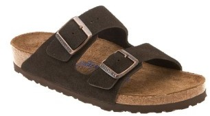Women's Birkenstock 'Arizona' Soft Footbed Suede Sandal