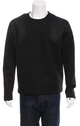 Valentino Pullover Eagle Print Sweatshirt w/ Tags