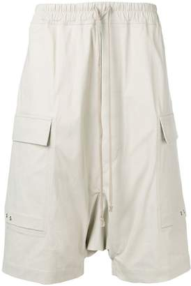 Rick Owens elasticated waist shorts