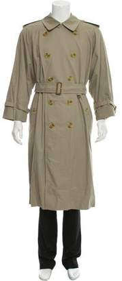 Burberry Burberry's Prorsum Vintage Belted Trench Coat