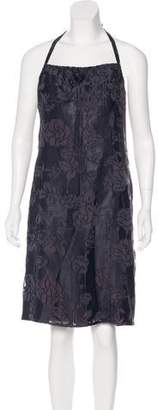 Anna Sui Silk Jacquard Dress