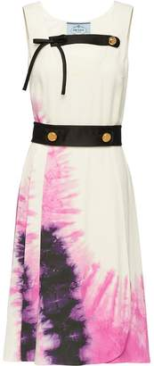 Prada tie-dye print dress